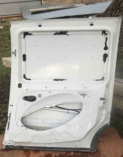 Fiat Doblo, дверка розсувна