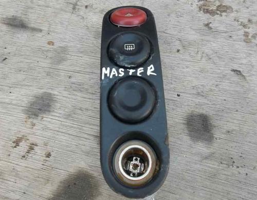 Кнопка аварійки, прикурювач Renault Master