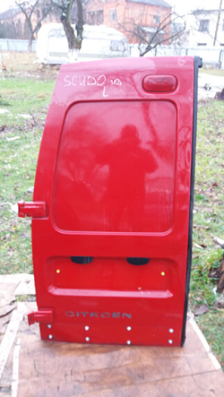 Дверка задня ліва (глуха) Fiat Scudo