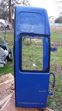 Дверка задня права (висока) Fiat Doblo