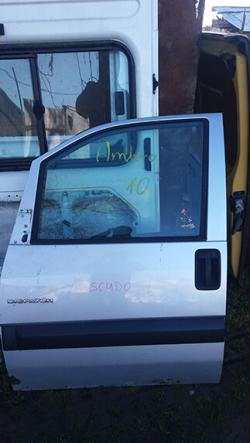 Дверка передня ліва Fiat Scudo, сірий колір