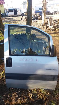 Дверка передня права Fiat Scudo, сірий колір