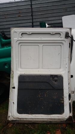 Дверка розсувна ліва глуха Fiat Scudo білий колір