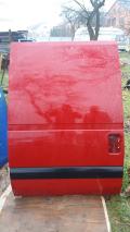Дверка розсувна права Fiat Scudo, червоний колір.