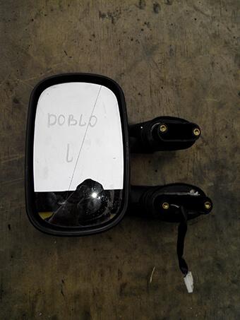 Зеркало ліве електричне Fiat Doblo