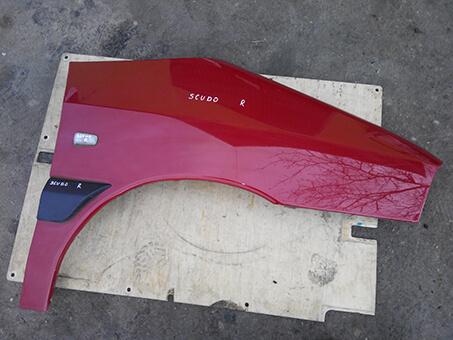 Крило переднє праве Fiat Scudo червоний колір