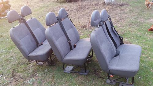 Сидіння задні Ford Transit