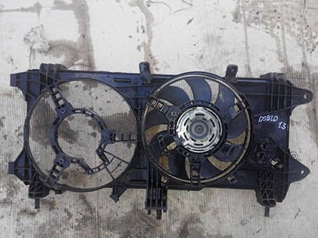 Вентилятор радіатора з моторчиком Fiat Doblo 1.3