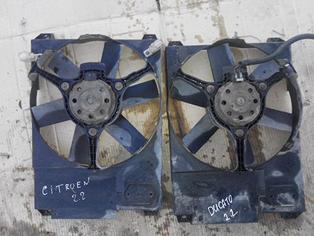Дифузор вентилятора радіатора Fiat Ducato 2.2