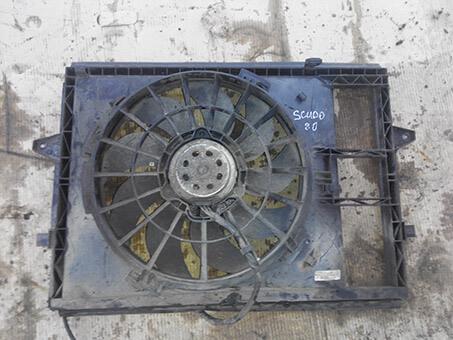 Вентилятор радіатора з моторчиком великий Fiat Scudo 2.0