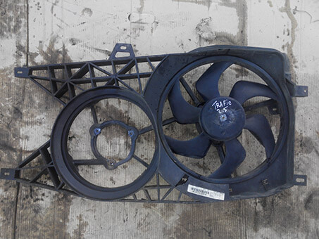 Вентилятор радіатора основиний з моторчиком Renault Trafic 2.5