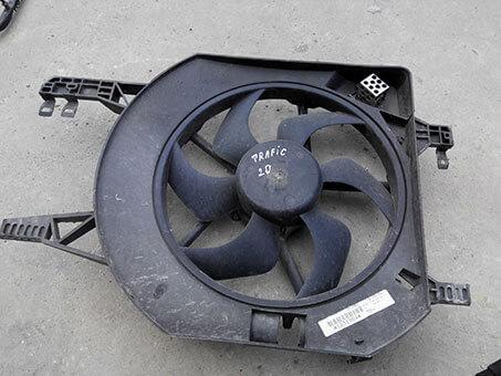 Вентилятор дифузора Renault Trafic 2.0 2008