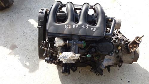 Двигатель Fiat Scudo 1.9 простий дизель