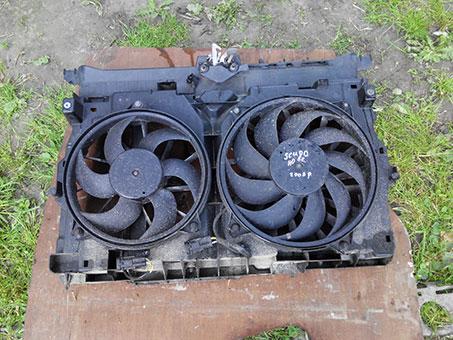 Дифузор вентилятора радіатора Fiat Scudo New 2007-2016