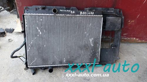 Радіатор охолодження Citroen Berlingo 2.0 HDI
