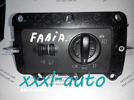 Блок керування освітленням Skoda Fabia 1999-2007 6Y1941531A