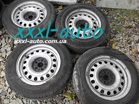 Комплект металевих дисків R15 Fiat Scudo