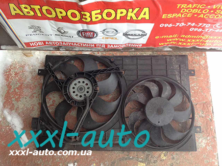Дифузор з вентиляторами Шкода Фабія 1.2 1999-2007