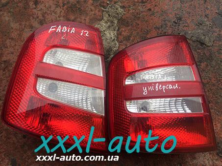 Ліхтар задній лівий для Skoda Fabia 1999-2007 6Y9945111B