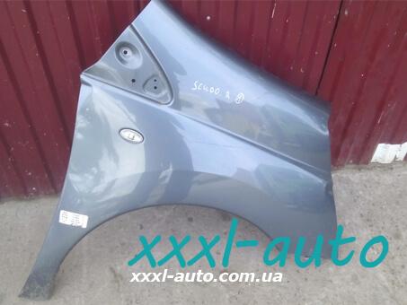 Крило переднє праве cірий колір Peugeot Expert 1400341788