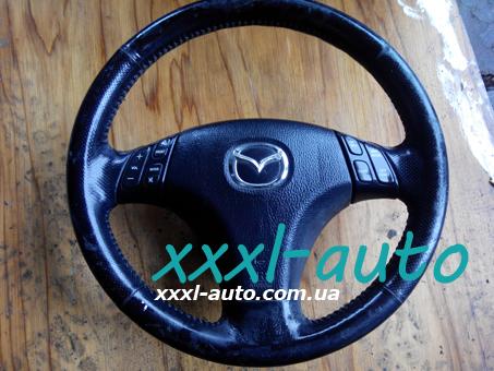 Кермо (руль) мульти під AIRBAG 3 спиці Mazda 6 2002-2007 GP9A32980B