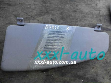 Козирок сонцезахисний правий Fiat Doblo 00-09