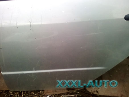 Двері задні ліві для Skoda Fabia 1999-2006 сірий металік