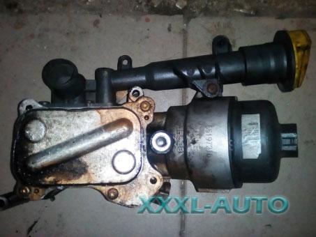 Корпус масляного фільтра c охолоджувачем (теплообмінник, радіатор) Fiat Doblo 1.3 jtd