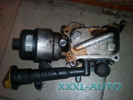 Корпус масляного фільтра c охолоджувачем (теплообмінник, радіатор) Fiat Doblo 55183548
