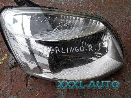 Фара передня права Citroen Berlingo 9644150880