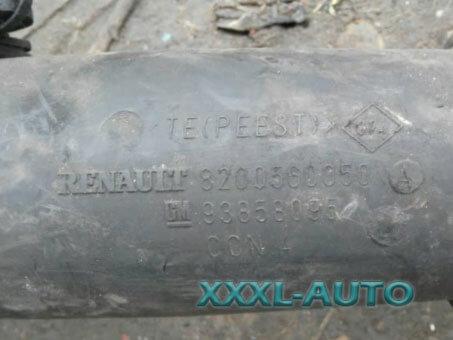 Патрубок інтеркулера радіатор Renault Master 2.5dci RENAULT 8200560050