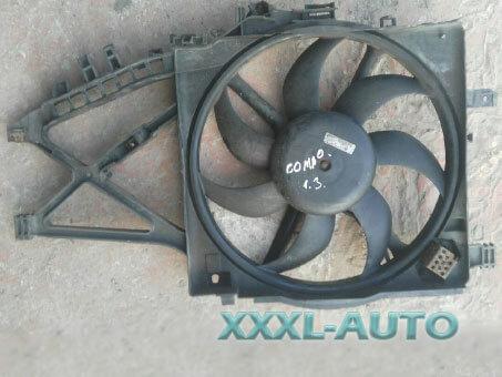 Фото Дифузор радіатора c вентилятором Opel Combo 1.3 cdti, 1.7 dti
