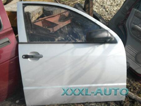 Фото Двері передні праві Skoda Fabia (сірий металік) 1999-2007