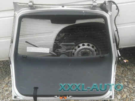 Фото Комплектна кришка багажника хетчбек Skoda Fabia 1999-2007 6Y6845049K
