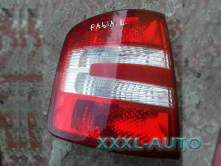 Фото Фонар лівий 05- седан універсал Skoda Fabia 1999-2007 6Y9945111D