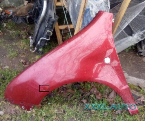Фото Крило переднє ліве Skoda Fabia 6Y0821101A (червоний колір)