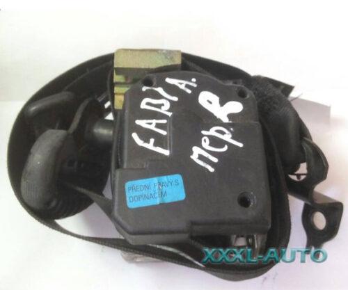 Фото Ремінь безпеки передній правий на Skoda Fabia 1 1999-2007 6Y0857702A